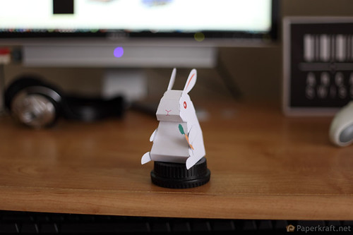 2011 Year of the Rabbit Papercraft 003