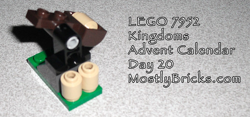 LEGO 7952 Kingdoms Advent Calendar Day 20