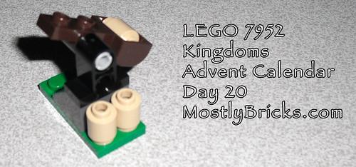 LEGO 7952 Kingdoms Advent Calendar Day 20