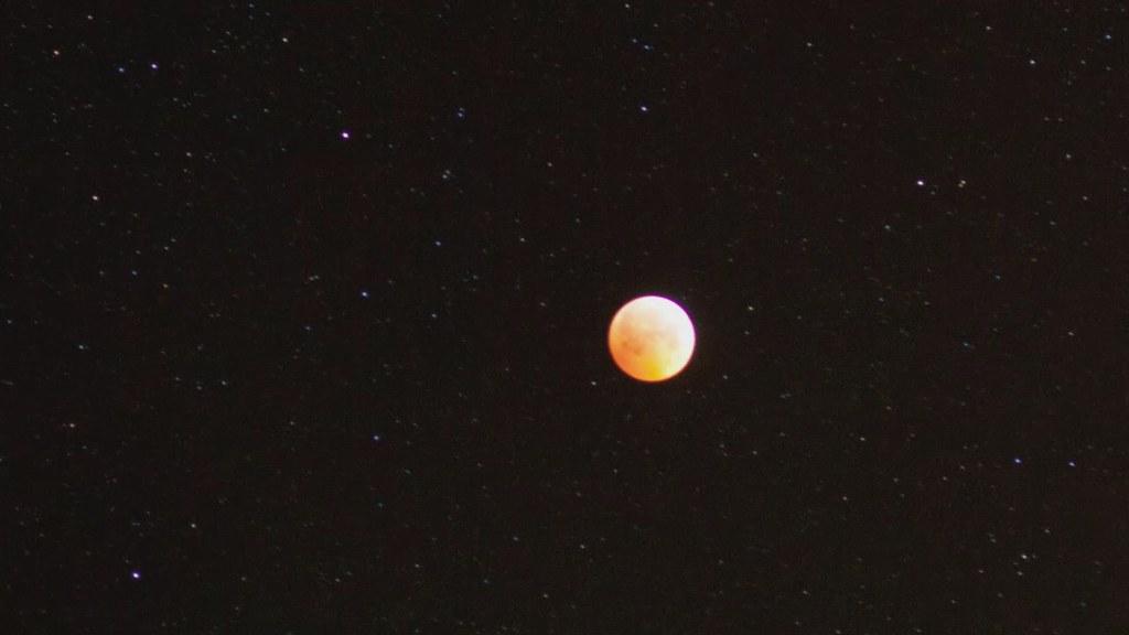 Lunar Eclipse Timelapse