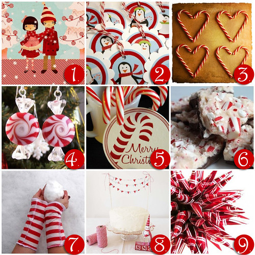 Wednesday Inspiration- Candy Cane
