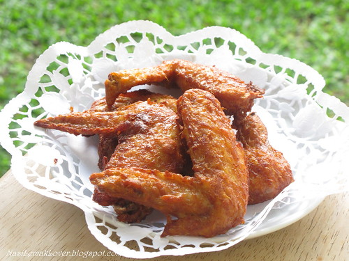 Nasi padang fried chicken recipe