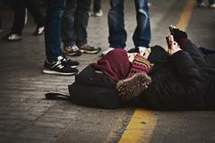 Allontanarsi dalla linea gialla (Skid X) Tags: students station university universit protest railway pisa demonstration protesta strike stazione studenti manifestazione occupation sciopero occupata occupazione riforma gelmini