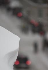 Vesterbro in the grip of winter (mhsorens) Tags: street snow copenhagen traffic pedestrians dxo boke vesterbro kopenhagen depth copenhaga københavn overhang cornice kaupmannahöfn copenhague 200mm 哥本哈根 manuallens ボケ копенгаген avanar боке كوبنهاغن 背景虛化 कोपेनहेगन kjøwenhavn
