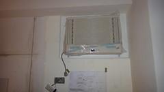 20101224-主臥冷氣安裝完畢