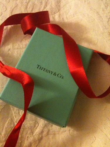 I got a little blue box for Christmas :)