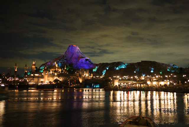 The first view of DisneySea