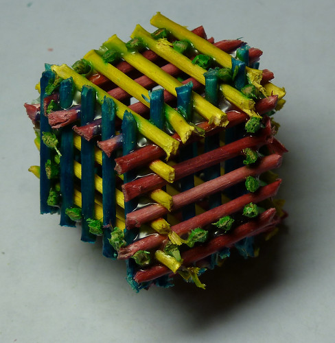 Rhombic Dodecahedron Hexastix