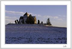 La Genevraye (@lain G) Tags: nikon neige église d90 lagenevray
