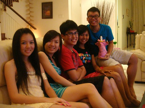 Chee Li Kee,Lily,Chern Jung,Carmen and Wen Jie