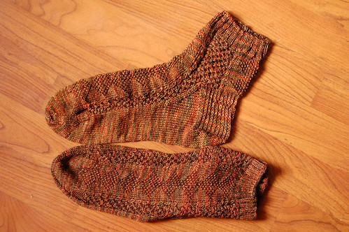 Moss and Bramble Socks
