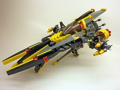 P1030523 (SuperHardcoreDave) Tags: fighter lego space spaceship starship moc starfighter spacefighter