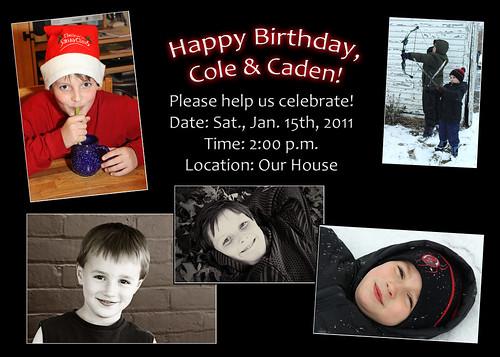 2011 Birthday Invitation