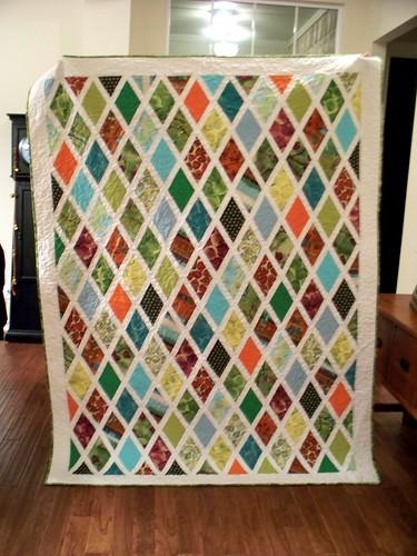 diamond quilt front