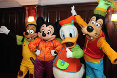 Max, Mickey, Donald and Goofy