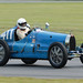 Number 411 1927 Bugatti Type 35C driven by Michael Gans