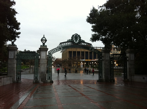 Sather Gate, Sproul Plaza and the ASUC