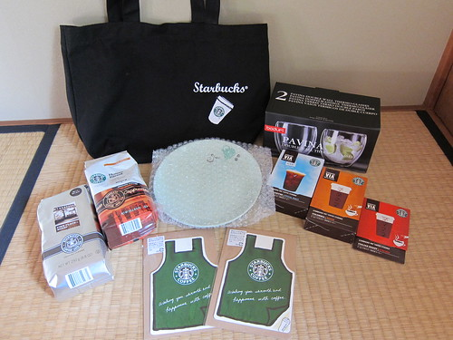 2011 Starbucks Lucky Bag 5000yen