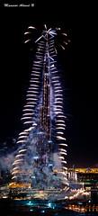 2011 Fire Works (Mansoor @hmed) Tags: new dubai year khalifa burj 2011 burjdubai khalifah
