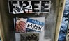 Abe Lincoln Jr. still running! (Reid Harris Cooper) Tags: newyorkcity streetart newyork graffiti sticker stickerart elc stickers abelincolnjr backfat endlesslovecrew
