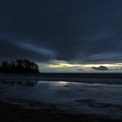 Cold Sunset (bigdaddyhame) Tags: winter snow ontario ice bay collingwood georgian bigdaddyhame onehameca