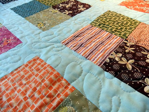 Hope Valley baby quilt detail