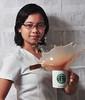 Starbucks (feistyfeeble) Tags: woman coffee girl female nikon university sb600 sto starbucks medstudent mug medicine tomas splash ust santo highspeed medicalstudent onelight d90 strobist facultyofmedicineandsurgery