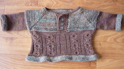 Brown Handspun Jumper