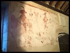 Wall Painting (Souterain) Tags: abandoned church training army village area salisbury range plain firing imber