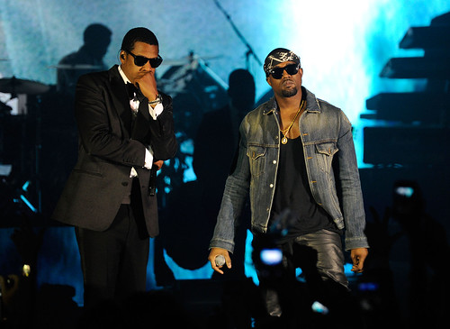 Jay-Z and Kanye West Perform at The Cosmopolitan Grand Opening and New Year's Eve Celebration
