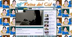 ReinaDelCid mit ihrer blauen Gitarre