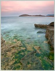 Sinfona de colores (Arnaldo Gutirrez) Tags: espaa naturaleza nature spain agua playa murcia amanecer cartagena mediterrneo calblanque agutirz