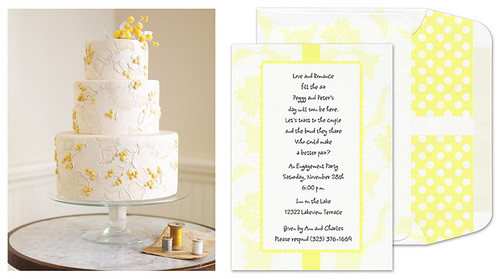 Cake and Invitation 3