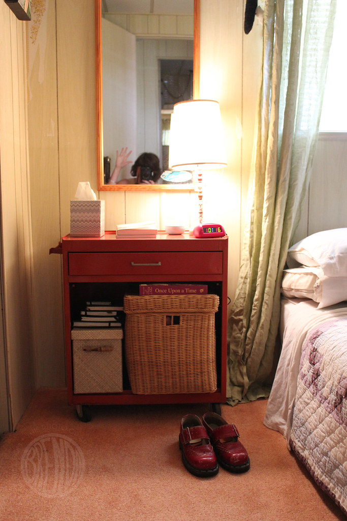 tool box for a bedside table