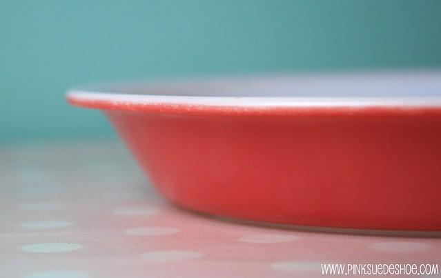 pink pie pan