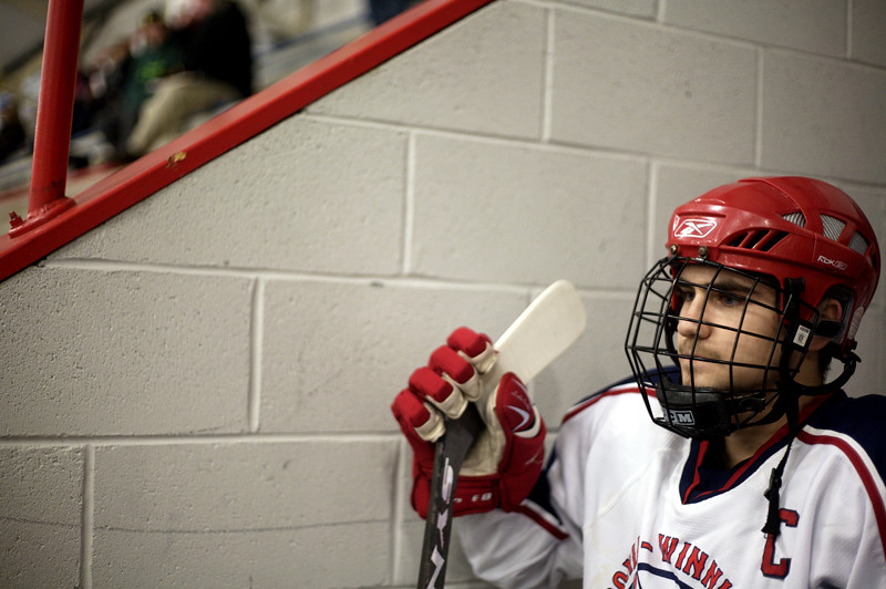 Laconia-Winnisquam played Belmont-Gilford in Ice Hockey