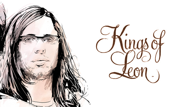 kings of leon -detail