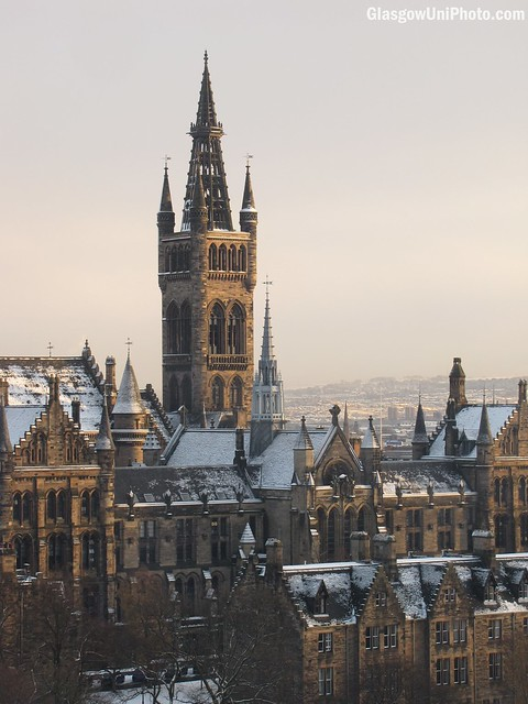 Spires Photos From Glasgow University