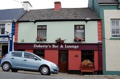 Doherty's Bar Ardara (Donegal Cottage Holidays) Tags: ireland bar pub donegal dungloe publichouse glenties ardara irishpubs narin pubsofireland dunlewey fintown lettermacaward traditionalirishpubs donegalbars donegalpubs