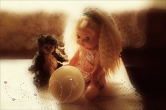 Letting the Beautiful Stuff Out .... (gentletouches) Tags: love beautiful hearts toys dolls bears cups playtime sweetness