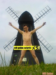 mill golden (G O L D E N E Y E) Tags: mill monument naked town brighton skin bare lifestyle censored naturism buff nudist naturist fkk nudism rottingdean