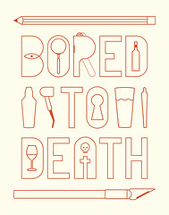 Bored to Death (Trevor Basset) Tags: design hbo boredtodeath jonathanames