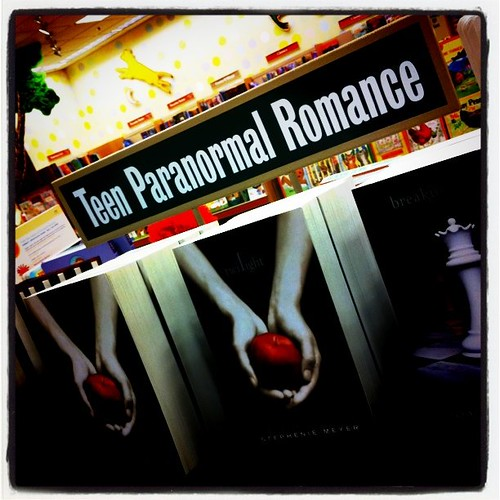 Teen Paranormal Romance. This is how far we have come.
