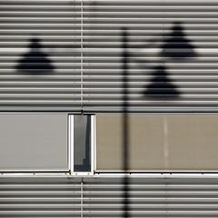 (akiruna) Tags: shadow abstract window lamp monochrome lines gray blinds akiruna haphazart annemiehiele annemiehielenl