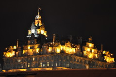 Edinburgh in lights