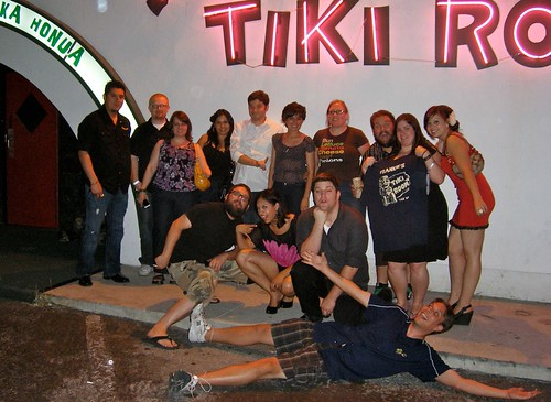 The Gang at Frankie's Tiki Room