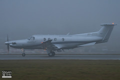 M-ERIL - 1240 - Confidentia Aviation - Pilatus PC-12 47E - Luton - 110107 - Steven Gray - IMG_7657
