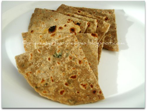 Mint & Avocado Multigrains Paratha