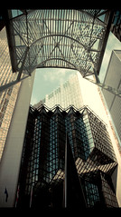 Toronto Downtown Lines (Cyrielle Beaubois) Tags: light toronto ontario canada macro lines architecture canon buildings eos dc downtown sigma constructions 1770mm f2845 400d eos400d sigma1770mmf2845dcmacro cyriellebeaubois