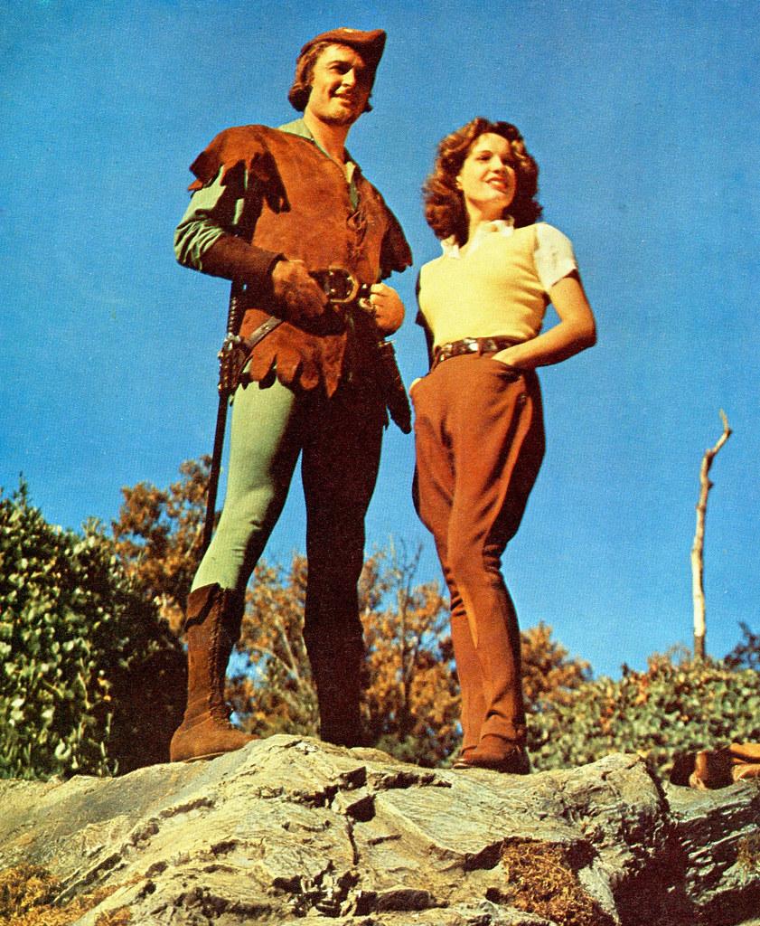 Errol Flynn and Lili Damita
